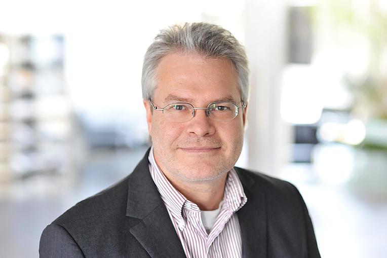 Wolfgang Frank, Geschäftsführer Pluspol GmbH, Koblenz