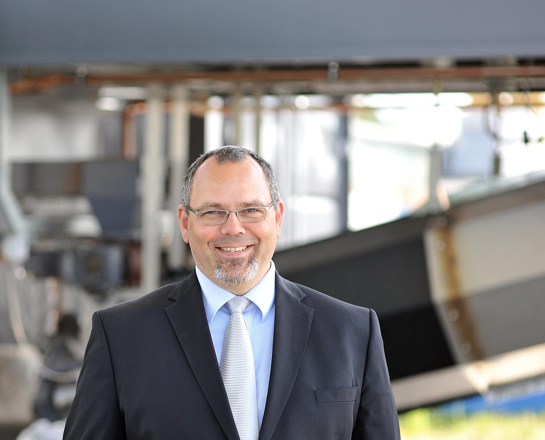 Helmut Gerber, Geschäftsführer Pyreg