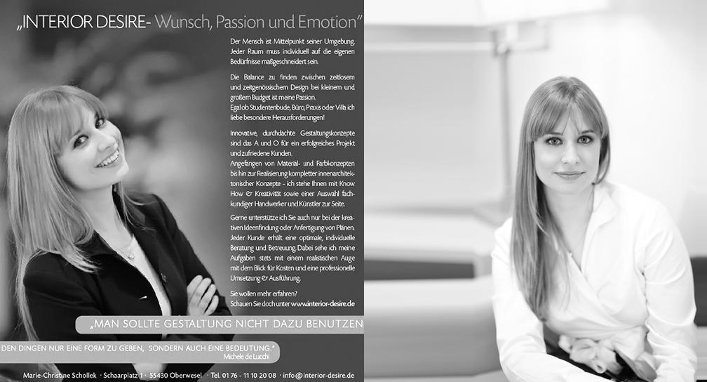 Marie-Christine Schollek, Interior Desire
